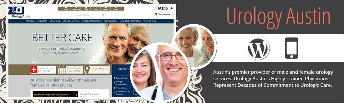 Austin's premier provider of male and female urology services. Urology Austin's Highly-Trained Physicians Represent Decades of Commitment to Urologic Care.